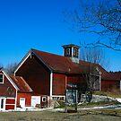 Maple Hill Barn by Deborah  Benoit