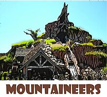"Splash Mountain Disney World ""Mountaineers"" Photographic Print"
