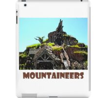 """Splash Mountain Disney World """"Mountaineers"""" iPad Case/Skin"""