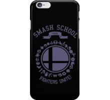 Smash School United (Purple) iPhone Case/Skin