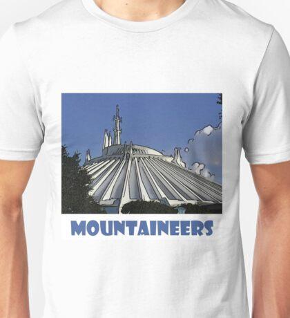 "Space Mountain Disney World ""Mountaineers"" Unisex T-Shirt"