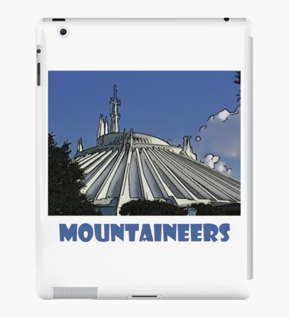 "Space Mountain Disney World ""Mountaineers"" iPad Case/Skin"