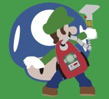 Super Smash Bros Luigi by Dalyz