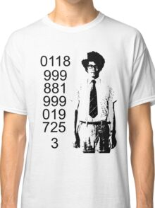 It crowd emergency number Classic T-Shirt