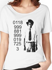 It crowd emergency number Women's Relaxed Fit T-Shirt