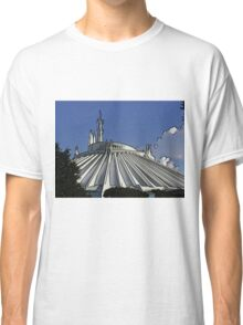 Space Mountain Cartoon Disneyland Disney World Classic T-Shirt