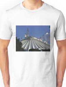 Space Mountain Cartoon Disneyland Disney World Unisex T-Shirt