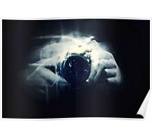 Hands and Light in Photography Poster