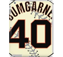 Madison Bumgarner Baseball Design iPad Case/Skin