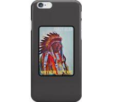 Crazy Head, Cheyenne Chief iPhone Case/Skin