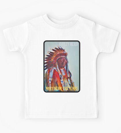 Crazy Head, Cheyenne Chief Kids Tee