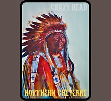 Crazy Head, Cheyenne Chief Unisex T-Shirt