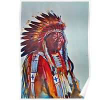 Crazy Head, Cheyenne Chief Poster