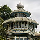 Minaret, Lake Maninjau by Naomi Brooks