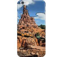 Big Thunder Mountain Cartoon Disney World Disneyland iPhone Case/Skin