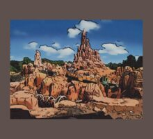 Big Thunder Mountain Cartoon Disney World Disneyland One Piece - Short Sleeve
