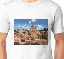 Big Thunder Mountain Cartoon Disney World Disneyland Unisex T-Shirt