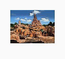 Big Thunder Mountain Cartoon Disney World Disneyland T-Shirt
