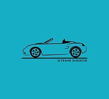 Porsche Boxster 986  by Frank Schuster
