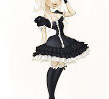 Gothic Lolita by PinUpToons