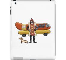 Bucky Barnes: The Wiener Soldier  iPad Case/Skin