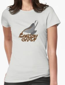 Shallow Gravy Womens Fitted T-Shirt