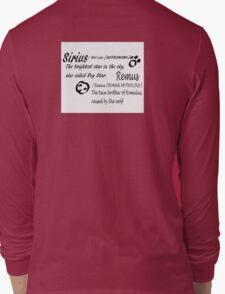 Wolfstar names Long Sleeve T-Shirt
