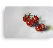 Tomatoes Canvas Print