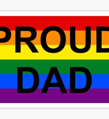 PROUD DAD Sticker