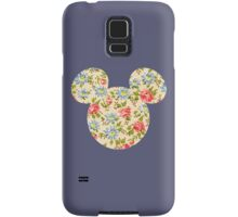 Floral Mouse Ears Samsung Galaxy Case/Skin
