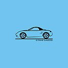 Porsche Boxster 986 Top Up Black by Frank Schuster