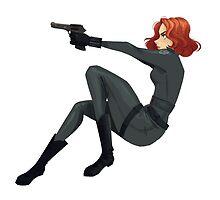 Black Widow by taryndraws