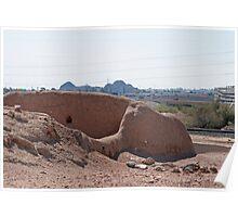 Pueblo Grande Ruins Today Poster