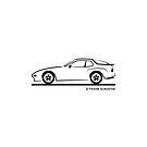 Porsche 944 Turbo Black by Frank Schuster