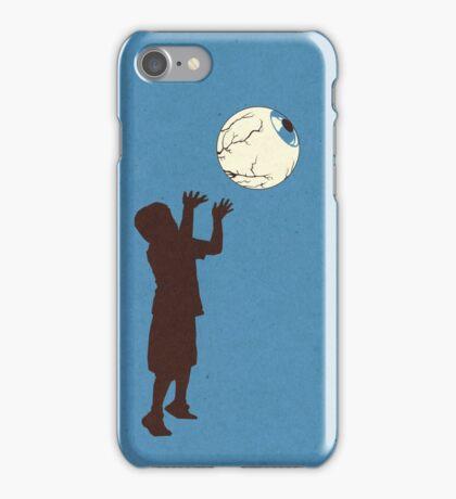 Eye Ball, Blue iPhone Case/Skin