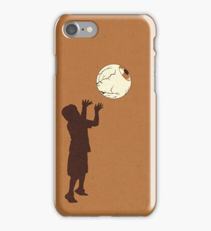 Eye Ball, Brown iPhone Case/Skin