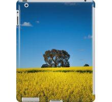 Canola fields, South Australia iPad Case/Skin
