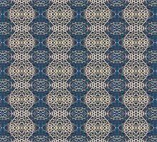 Zoanthid motif by Lee Jones
