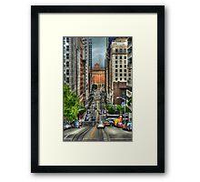 California Street Framed Print