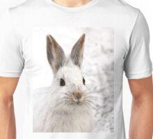 Snowshoe Hare closeup T-Shirt