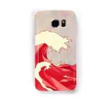 Cherry Waves Samsung Galaxy Case/Skin