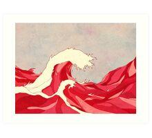Cherry Waves Art Print