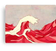 Cherry Waves Canvas Print