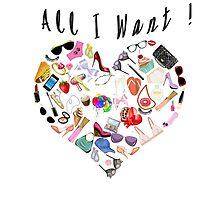 """All I want!"" by Giada"