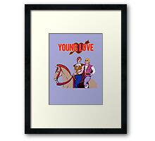 Young Love (He-Man and Bow) Framed Print