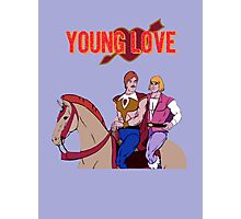 Young Love (He-Man and Bow) Photographic Print