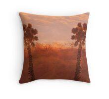 Mountians Throw Pillow