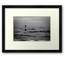 Dark Sea #02 Framed Print