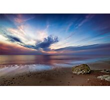 Old Hunstanton Beach Photographic Print