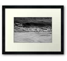 Dark Sea #03 Framed Print